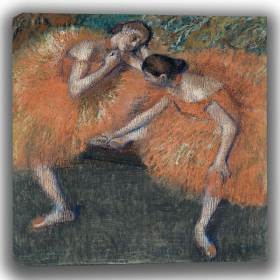 Degas, Edgar: Two Dancers. Fine Art Canvas (003774)